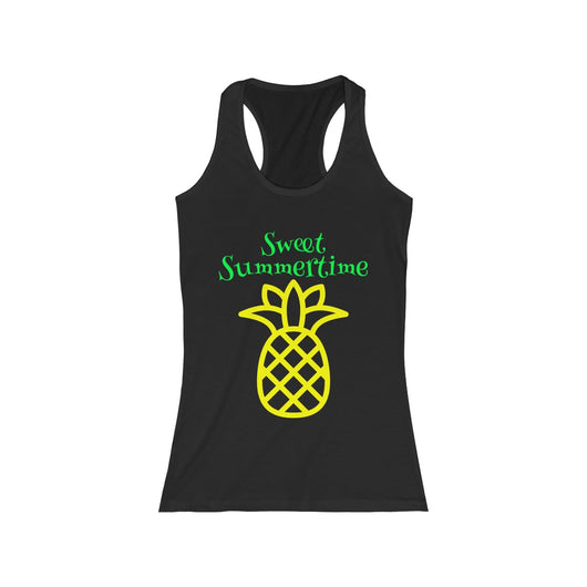 Sweet Summertime Women's Racerback Tank (Runs Small Size Up)