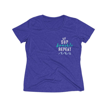 Sparkle Women's Heather Wicking Tee