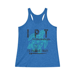IPT Tri-Cities Women's Tri-Blend Racerback Tank