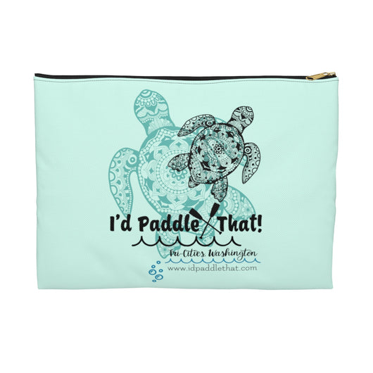 Signature Sea Turtle Accessory Pouch