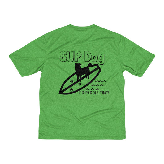 SUP DOG Men's Heather Dri-Fit Tee