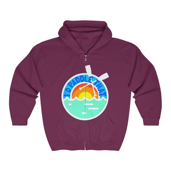 IPT Summertime Unisex Heavy Blend™ Full Zip Hooded Sweatshirt