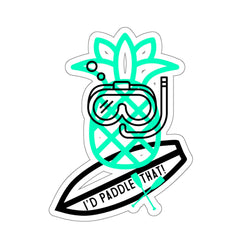 SUP Pineapple Kiss-Cut Stickers