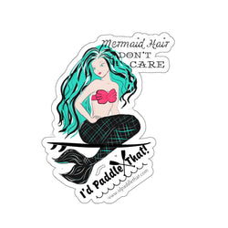 Mermaid Hair Don't Care Stickers
