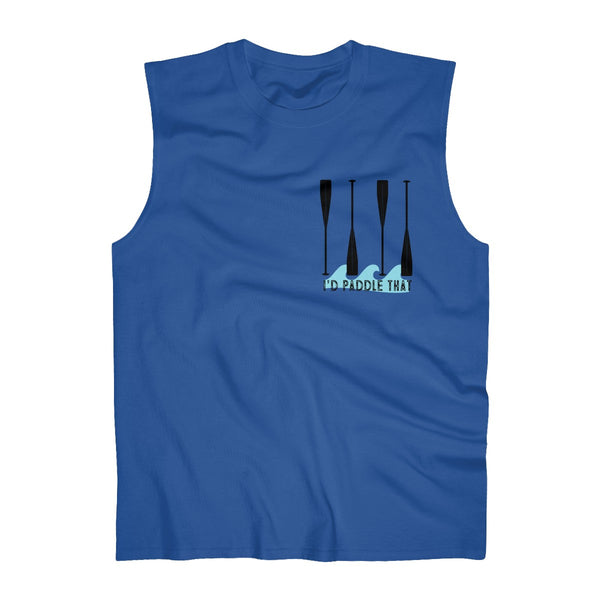 Paddle That Pineapple! Men's Ultra Cotton Sleeveless Tank