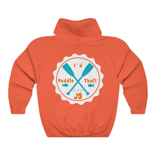 J9 Sea Turtle Unisex Heavy Blend Hooded Sweatshirt