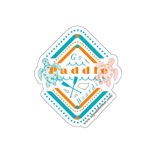 Go Paddle Boarding Stickers