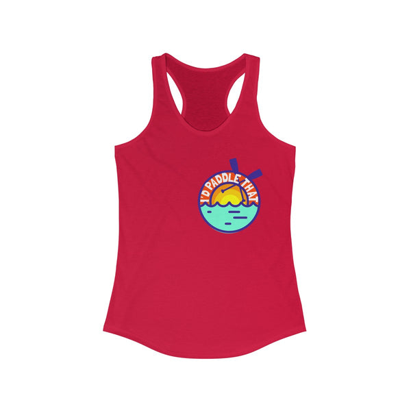 IPT Summertime Women's Ideal Racerback Tank (runs small size up)