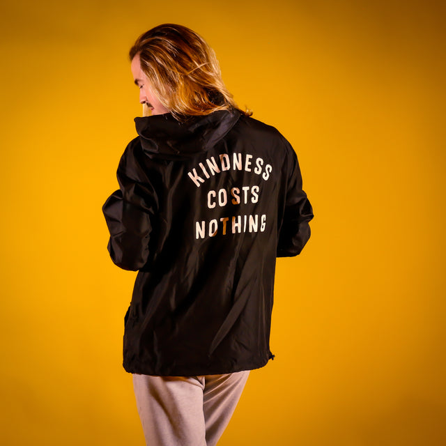 Kindness Costs Nothing Windbreaker