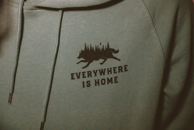 Everywhere is Home Hoodie