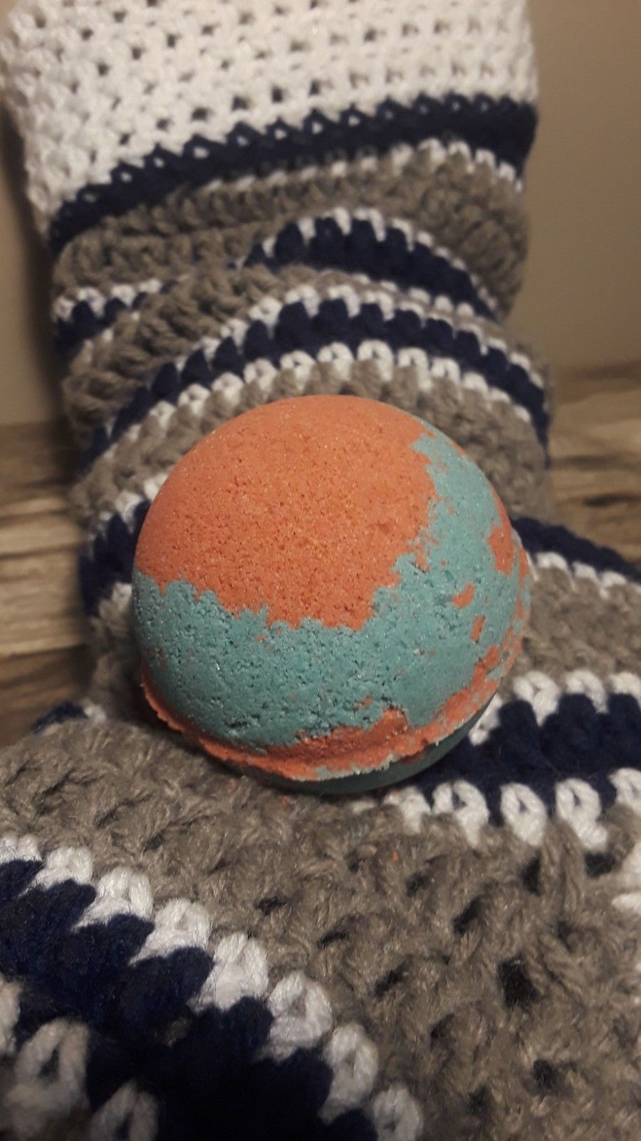 "*LIMITED EDITION GEM BATH BOMB* ""Pine Me & Dine me"" 100mg CBD Lush & Relaxing"