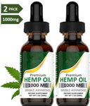 Private label 100% organic hemp drops hemp oil for sale 1000mg