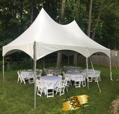 20x30 high peak frame tent package