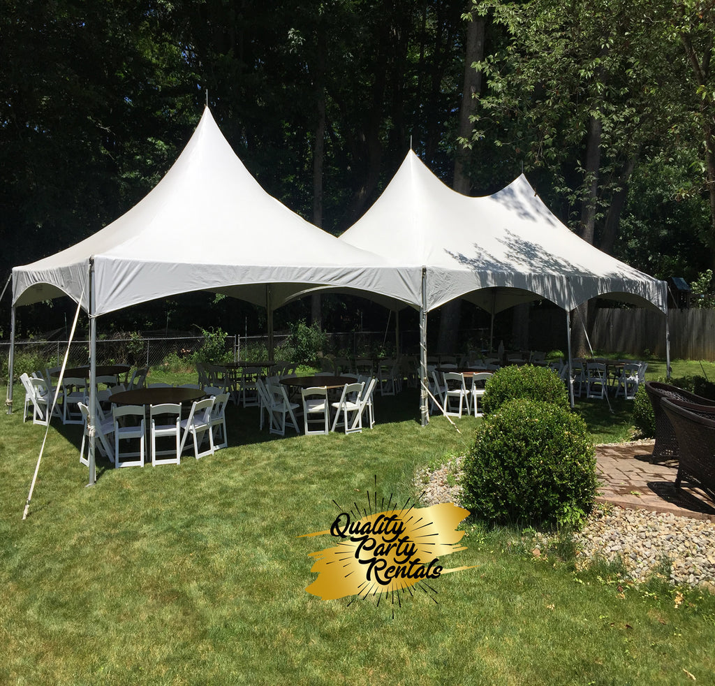 20x50 high peak frame tent package