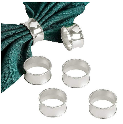 Silver Napkin Rings - misc