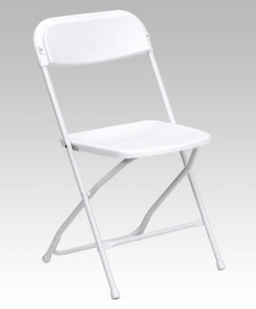 whitefoldingchairsrental