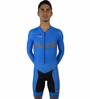 Men's Team Ringer Skinsuit : Blue