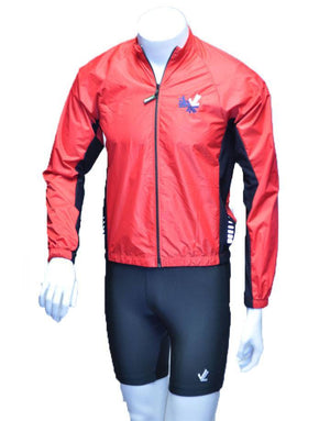 Full Zip Wind Jacket : Red