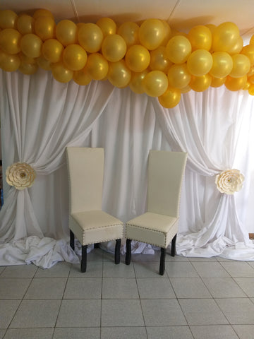 BALLOON CURTAIN BACKDROP