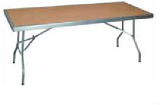RECTANGULAR TABLE (18X760) WOOD