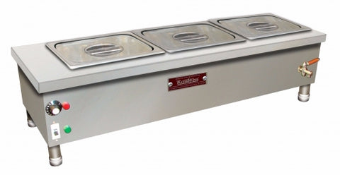 BAIN MARIE 3 DIV WITHOUT STAND