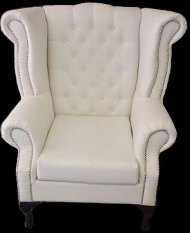 WHITE GROOM CHAIR MEDIUM
