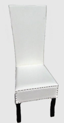 WHITE GROOM CHAIR SMALL