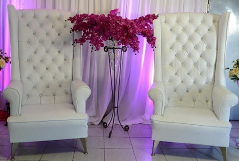 WHITE BRIDE CHAIR LARGE