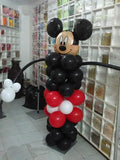 BALLOON PILLAR WITH BALL TOP