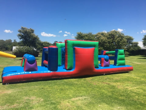 JUMPING CASTLE - OBSTACLE COURSE