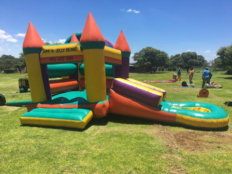 JUMPING CASTLE - SLIDE & SIDE POND
