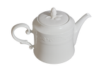 TEA POT/COFFEE WHITE