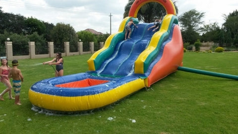 JUMPING CASTLE - WAVE SLIDE