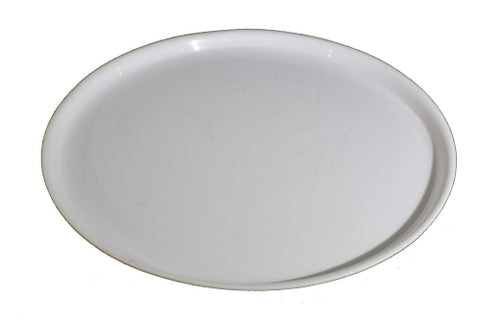 TRAY WHITE/ROUND (FOR FOOD)