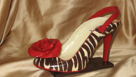 Chocolate Christian Louboutain Shoe