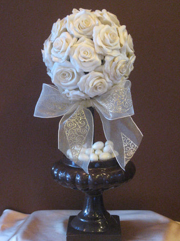 Chocolate Rose Topiary