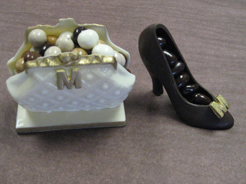 Chocolate Shoe and Handbag