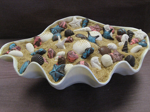 Large Seashell Plate