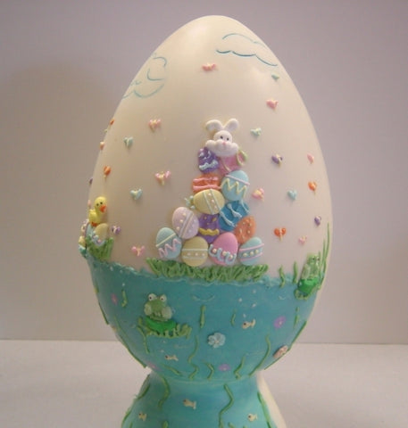 Large Hand Decorated Easter Egg 2