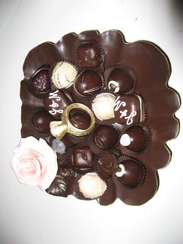 Chocolate Truffle Plate