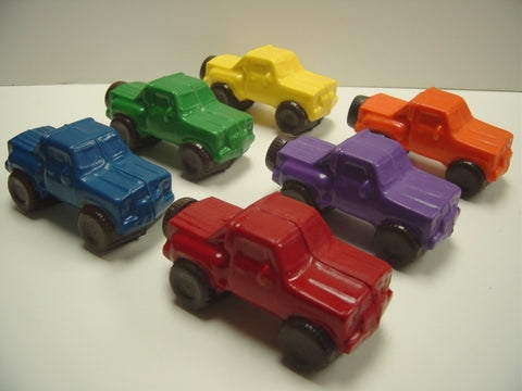 Chocolate Toy Trucks