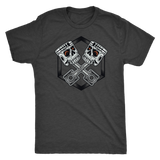 Piston Skulls Mens Triblend