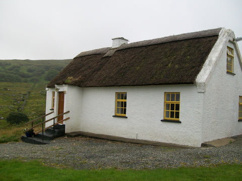 small white building in Ireland