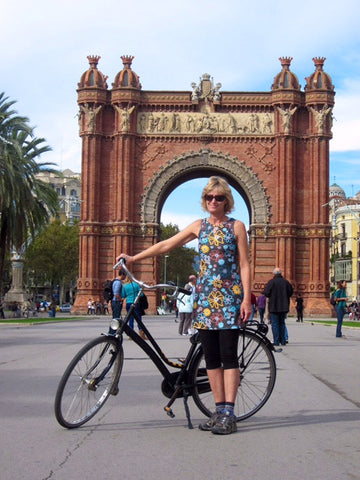 Travel dress barcelona