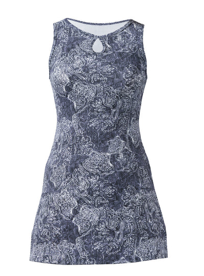 Adrift Ruu-Muu pocket exercise dress, running dress, travel dress, athletic dress.