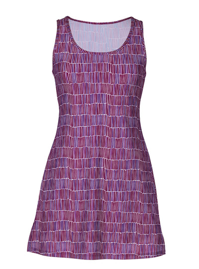 Dynamite Nuu-Muu Scoop pocket exercise dress, running dress, travel dress, athletic dress