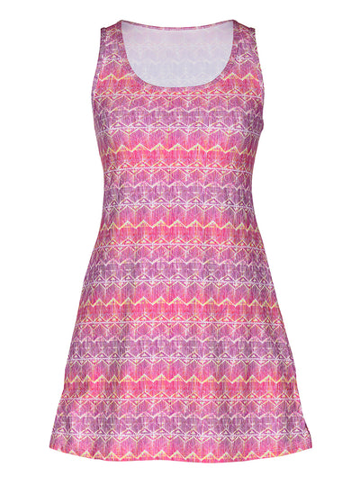 Electra Nuu-Muu Scoop pocket exercise dress, running dress, travel dress, athletic dress