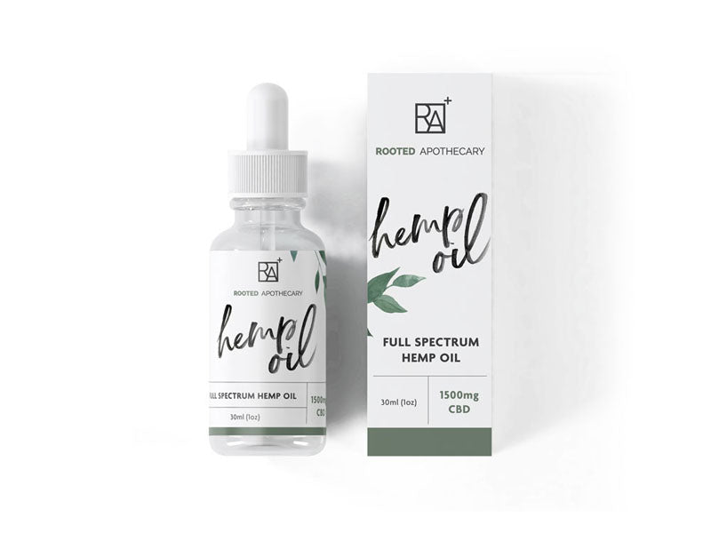 1500mg Hemp Extract - organically grown hemp extract, CBD