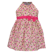 Casual Cotton Girls Dress - Pink