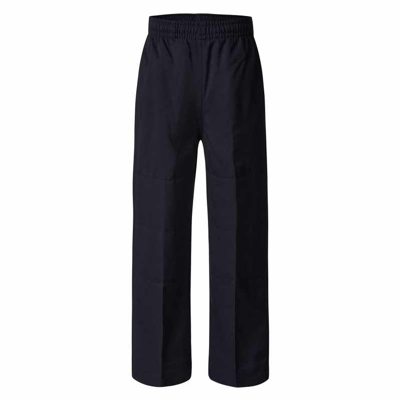 Navy Trousers - Double Knee